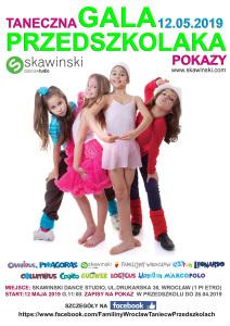 Gala Przedszkolaka - plakat 2019 NEw